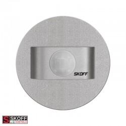 SKOFF SALSA M/WW TEPLÁ BIELA MOSADZ Vstavané LED svietidlo 0,8W 10V/DC IP66