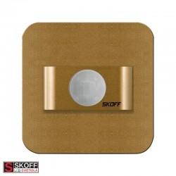 SKOFF RUEDA MINI K/WW TEPLÁ BIELA INOX Vstavané LED svietidlo 0,4W 10V/DC IP20