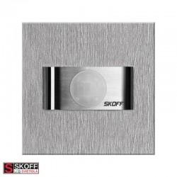 SKOFF BOLERO OL7 Vstavané svietidlo NEREZ LED 1.8W 3800K 10-12V/DC IP20