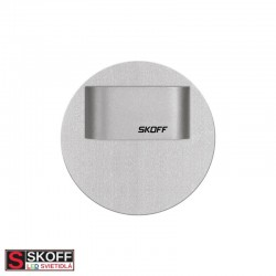 SKOFF RUEDA MINI SHORT LED Svietidlo 0,4W MODRÁ HLINÍK 10V/DC IP66