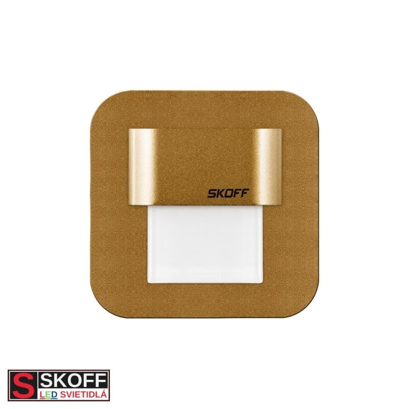 SKOFF SALSA MINI LED Svietidlo 0,4W 4000K MOSADZNÉ 10V/DC IP66
