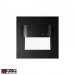 SKOFF TANGO LED Svietidlo 0,8W 3000K ČIERNE 10V/DC IP66