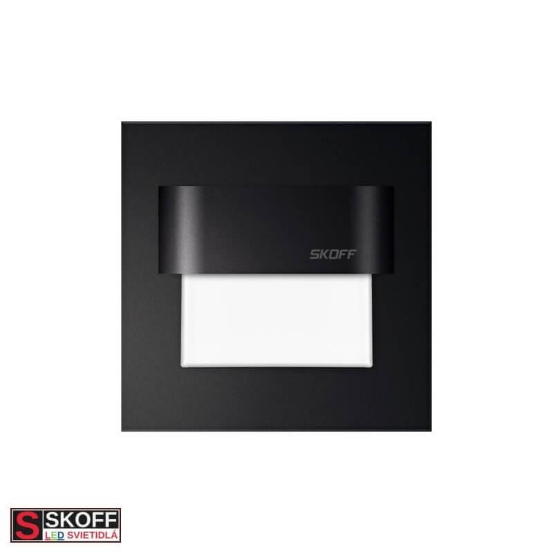 SKOFF TANGO LED Svietidlo 0,8W MODRÁ ČIERNE 10V/DC IP66