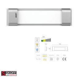 SKOFF RUMBA STICK LED Svietidlo 0,8W 6500K HLINÍK 10V/DC IP66