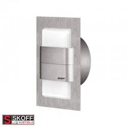 SKOFF KINKIET DUO TANGO LED Svietidlo 1,6W 4000K NEREZ 10V/DC IP66
