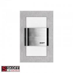 SKOFF KINKIET DUO TANGO LED Svietidlo 1,6W MODRÁ NEREZ 10V/DC IP66