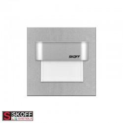 SKOFF TANGO STICK LED Svietidlo 0,8W MODRÁ HLINÍK 10V/DC IP66