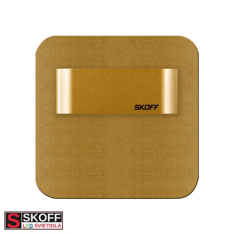 SKOFF SALSA SHORT LED Svietidlo 1,8W 3000K MOSADZNÉ 230V/AC IP20
