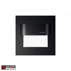 SKOFF TANGO LED Svietidlo 1,8W 3000K ČIERNE 230V/AC IP20