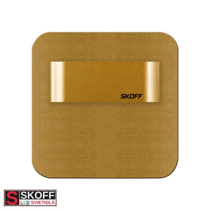 SKOFF SALSA SHORT LED Svietidlo 0,8W 4000K MOSADZNÉ 10V/DC IP20
