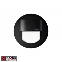 SKOFF RUEDA MINI LED Svietidlo 0,4W 6500K ČIERNA 10V/DC IP20
