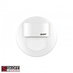 SKOFF RUEDA MINI STICK LED Svietidlo 0,4W 3000K BIELE 10V/DC IP20