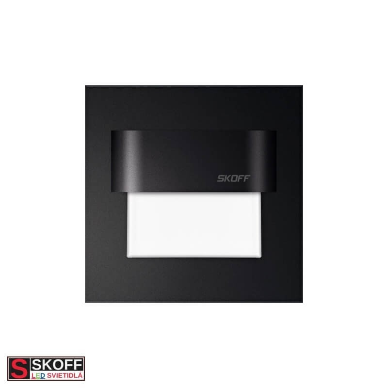 SKOFF TANGO LED Svietidlo 0,8W 3000K ČIERNE 10V/DC IP20