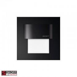 SKOFF TANGO MINI LED Svietidlo 0,4W 6500K ČIERNE 10V/DC IP20