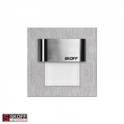SKOFF TANGO MINI LED Svietidlo 0,4W MODRÁ NEREZ 10V/DC IP20