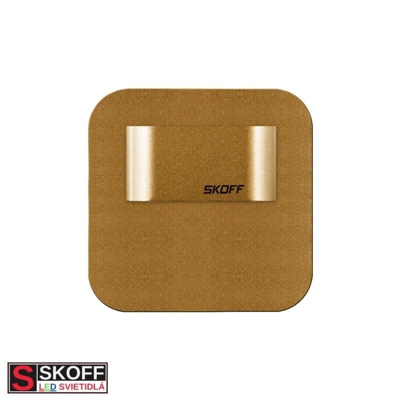 SKOFF SALSA MINI SHORT LED Svietidlo 0,4W 3000K MOSADZNÉ 10V/DC IP20