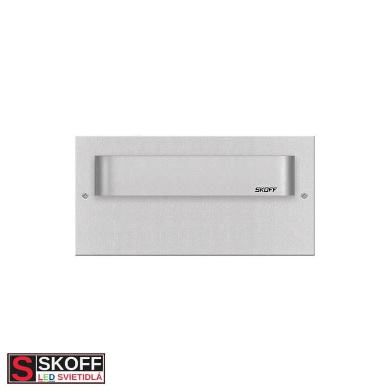 SKOFF TANGO MAX SHORT LED Svietidlo 1,6W 6500K HLINÍK 10V/DC IP20