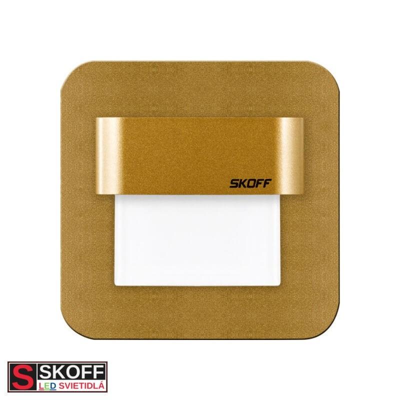 SKOFF SALSA LED Svietidlo 0,8W 3000K MOSADZNÉ 10V/DC IP20