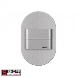 SKOFF DUO RUEDA SHORT LED Svietidlo 1,6W 3000K HLINÍK 10V/DC IP20