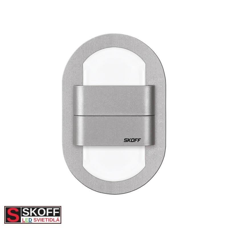 SKOFF DUO RUEDA LED Svietidlo 1,6W 6500K HLINÍK 10V/DC IP20