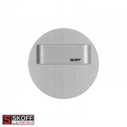 SKOFF RUEDA SHORT LED Svietidlo 0,8W 6500K HLINÍK 10V/DC IP20
