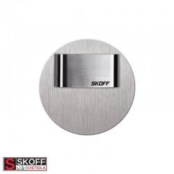 SKOFF RUEDA MINI SHORT LED Svietidlo 0,4W MODRÁ NEREZ 10V/DC IP20