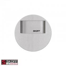 SKOFF RUEDA MINI SHORT LED Svietidlo 0,4W 6500K HLINÍK 10V/DC IP20