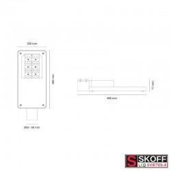 LED Svietidlo SKOFF iCity Basic 20W štandard