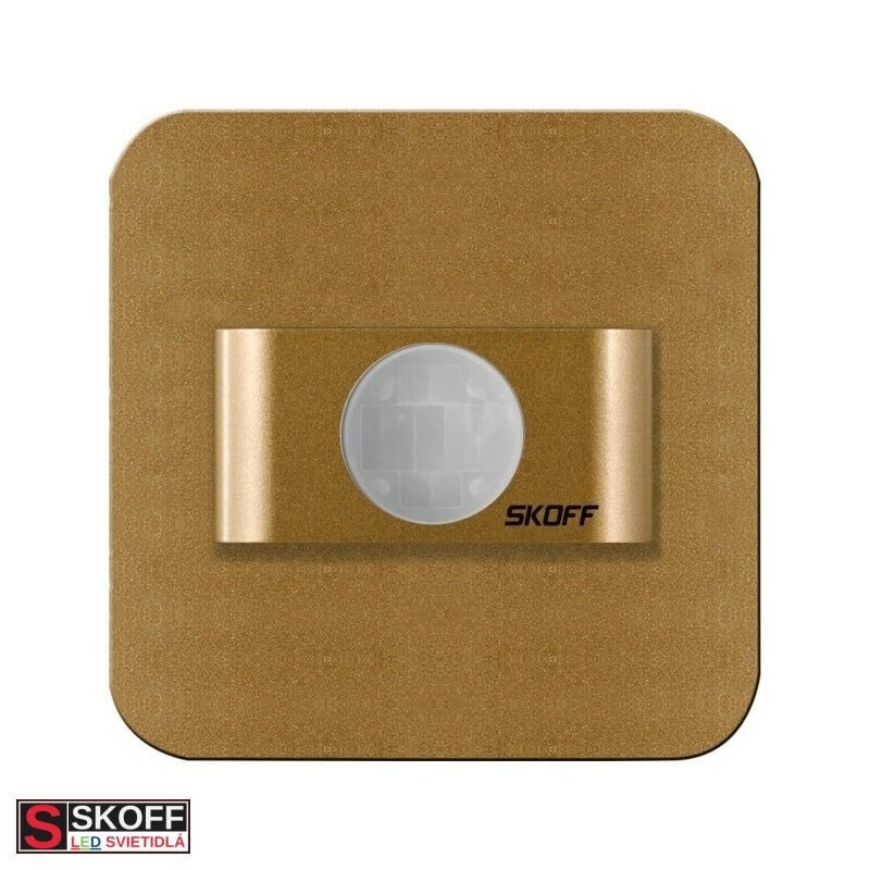 SKOFF SALSA Pohybový senzor 0,6W MOSADZNÉ 230V/AC PIR 120º IP20