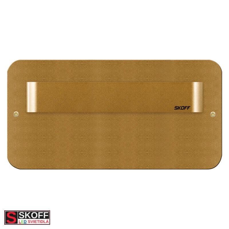 SKOFF TANGO Vstavané svietidlo BIELE LED 0.8W MODRÁ 10V/DC IP20