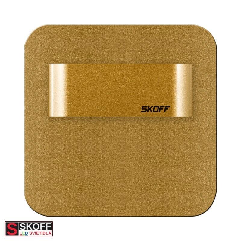 SKOFF SALSA STICK SHORT LED Svietidlo 0,8W 4000K MOSADZNÉ 10V/DC IP66