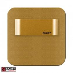 SKOFF TANGO MINI STICK SHORT Prisadené svietidlo HLINÍK LED 0.4W 3800K 10V/DC IP66