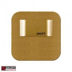 SKOFF SALSA MINI SHORT LED Svietidlo 0,4W 4000K MOSADZNÉ 10V/DC IP66