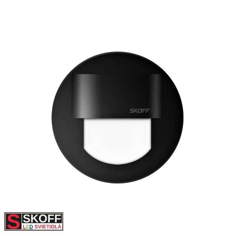 SKOFF RUEDA MINI LED Svietidlo 0,4W MODRÁ ČIERNE 10V/DC IP66