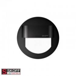 SKOFF RUEDA LED Svietidlo 0,8W 3000K ČIERNE 10V/DC IP66