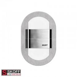 SKOFF DUO RUEDA LED Svietidlo 1,6W 4000K NEREZ 10V/DC IP66