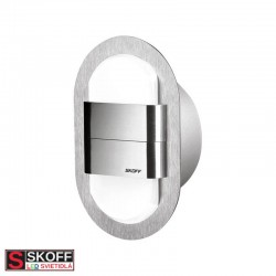 SKOFF KINKIET DUO RUEDA LED Svietidlo 1,6W 4000K NEREZ 10V/DC IP66