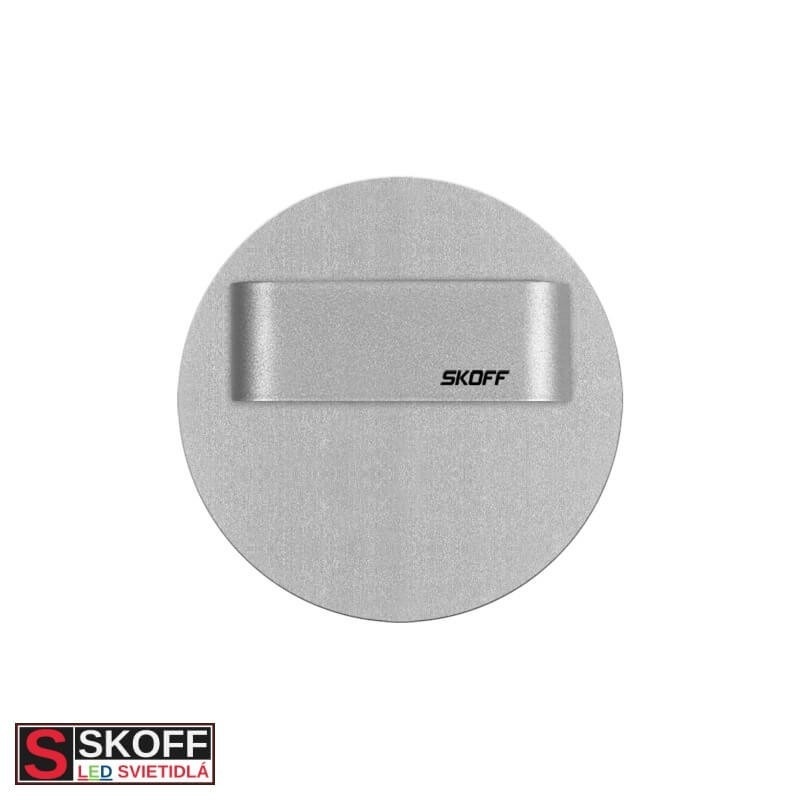 SKOFF RUEDA SHORT LED Svietidlo 0,8W MODRÁ HLINÍK 10V/DC IP66